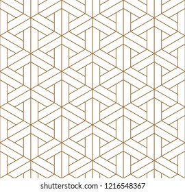 Beautiful Seamless pattern japanese shoji kumiko, great design for any purposes. Japanese pattern background vector. Japanese traditional wall, shoji.Fine lines.