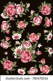 Imagenes Fotos De Stock Y Vectores Sobre Flores Papel Tapiz