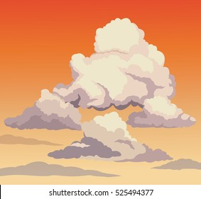 beautiful sky sunset clouds