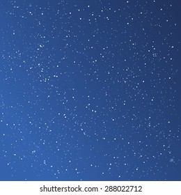 Beautiful starry sky background