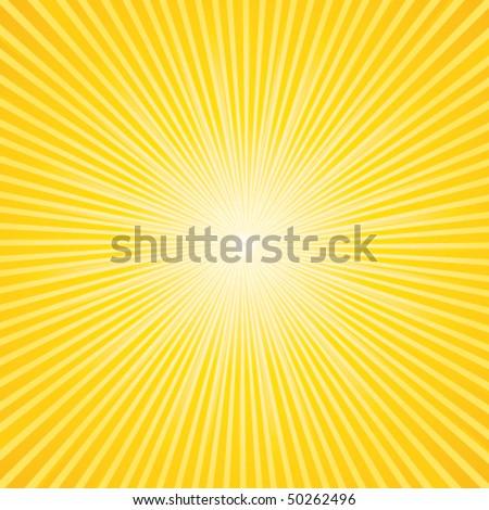 2f08beb92e8db Beautiful Summer Sunburst Vector Background Stock Vector (Royalty ...