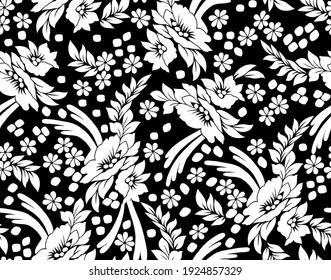 Beautiful Tribal floral Hand Block Print