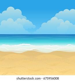 Beach Scene Images Stock Photos Vectors Shutterstock