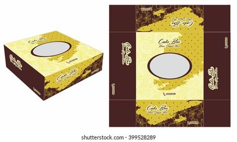 Beautiful and Unique Square Cake Box