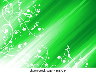 Beautiful vector background with different elements.