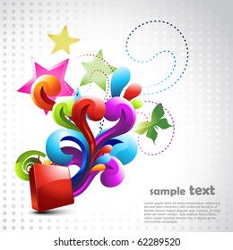 beautiful vector design background illustration