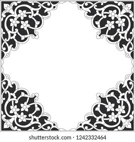 Beautiful vector frame in historical style. You can use to design a holiday card by adding a few labels.