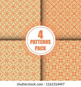Beautiful vintage arabesque pattern design