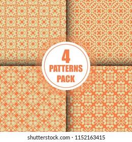 Beautiful  vintage pattern design