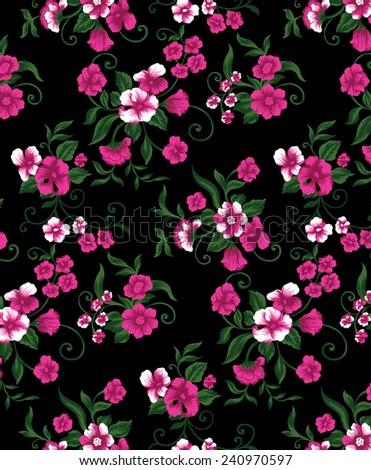 Beautiful Wallpapers Beautiful Bouquet Pink Flowers Stock Vector