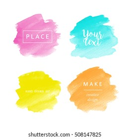 Beautiful watercolor backgrounds