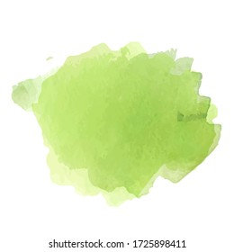 Beautiful watercolor bleed, colorful paint material