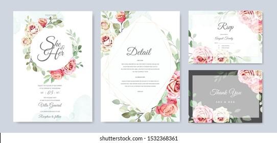 beautiful wedding invitation card designs