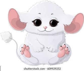 Beautiful white animal