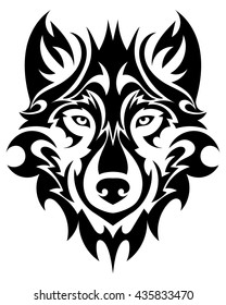 Wolf Tattoo Images Stock Photos Vectors Shutterstock