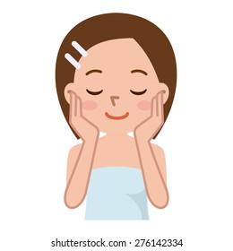 Skin Care Cartoon Images Stock Photos Vectors Shutterstock