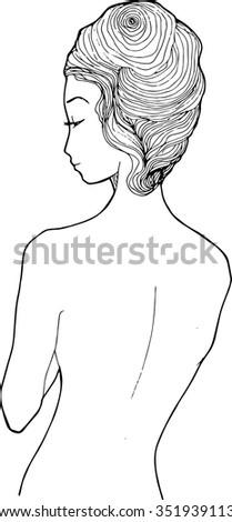 Female nudes artistic