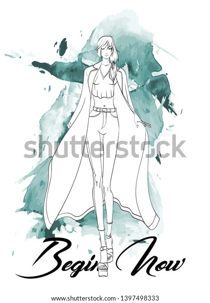 Sketch Nightwear Art