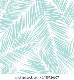 Beautifull tropical leaves seamless pattern design