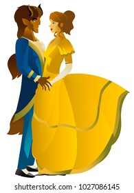 beauty and beast dancing