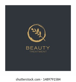 Beauty Botanical nature Logo vector