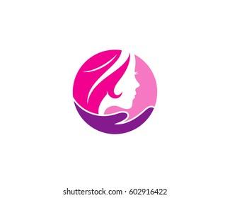 Beauty Care Logo Design Element