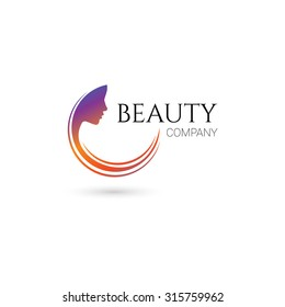 Beauty company logo. Vector