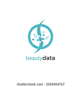 Beauty Data Lodo Concept