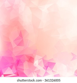 Beauty & Fashion concept abstract geometric beautiful background with soft color tones