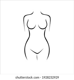 the beauty of the female body in different styles