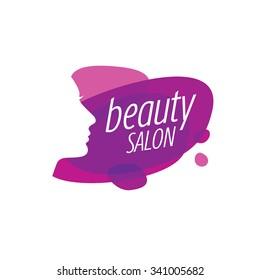 Beauty Female Face Logo Design.Cosmetic salon logo design. Creative Woman Face Vector