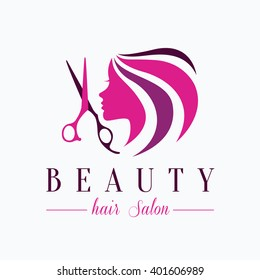 Hair salon logo images stock photos vectors shutterstock beauty hair salon logo altavistaventures Images