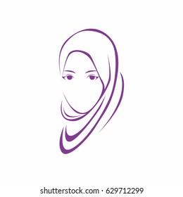 beauty hijab logo