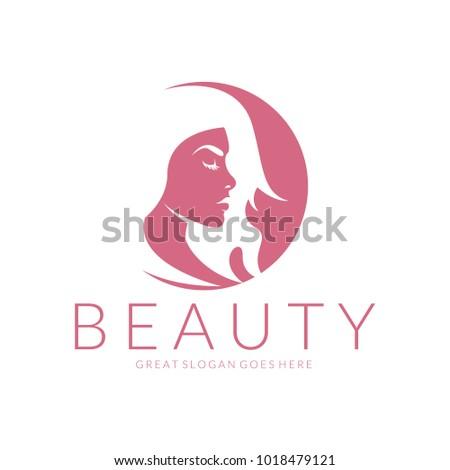 Beauty Logo Vector Logo Design Beauty Stock Vector Royalty Free