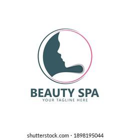 beauty logo vector spa illustration