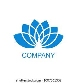 Beauty Lotus flowers logo