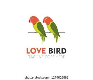 Logo Lovebird Images Stock Photos Vectors Shutterstock