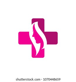Beauty Medical Logo Icon Design