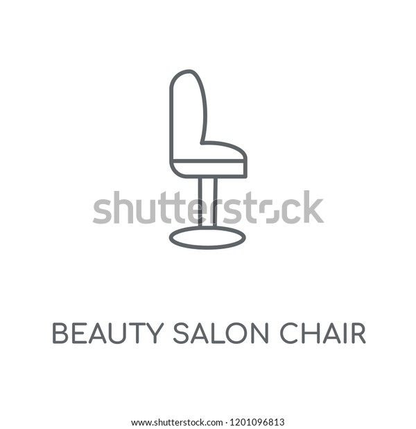 Admirable Beauty Salon Chair Linear Icon Beauty Stock Vector Royalty Home Interior And Landscaping Eliaenasavecom