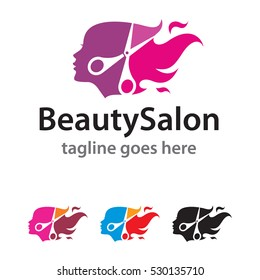 Beauty Salon Logo Template Design Vector