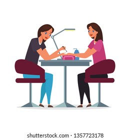 Salon Services at Home Stock Illustrations, Images & Vectors