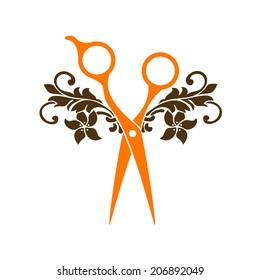 Beauty salon symbol logo