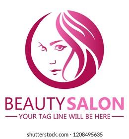 beauty saloon logo