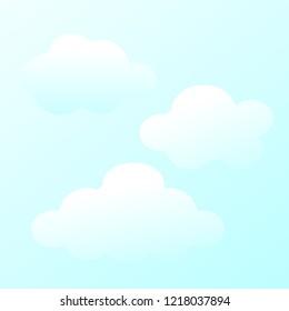 beauty sky clound background
