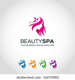 Beauty Spa Logo Template...