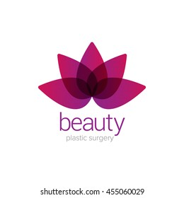 Beauty Woman Flower and Plastic Surgery