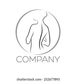 beauty and woman logo