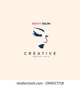 Beauty Women Logo Template, vector, illustration design.