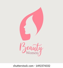 beauty women logo - vrctor file