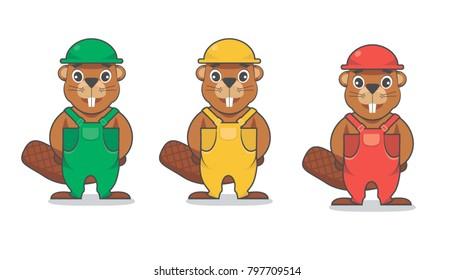 beaver character mascot